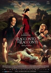IT/FR, 2015 Regia: Matteo Garrone Interpreti: Salma Hayek, Vincent Cassel Orario: 17,30 – 20,00 Fantasy/Storico. Durata 128 min.