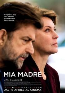 IT, 2015 Regia: Nanni Moretti Interpreti: Margherita Buy, Giulia Lazzarini Orario: 16,15 – 18,15 – 20,15 Drammatico. Durata 106 min.