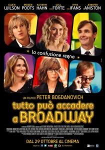 U.S.A., 2014 Regia: Peter Bogdanovich Interpreti: Jennifer Aniston, Owen Wilson Orario: 16,15 – 18,15 – 20,15 Commedia. Durata 93 min.