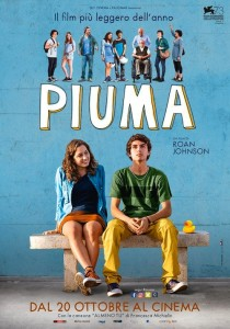 ITALIA, 2016 Regia: Roan Johnson Interpreti: Luigi Fedele, Blu Yoshimi Orario: 16,15 – 18,15 – 20,15 Commedia. Durata 98 min.